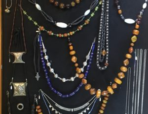 A rich selection of beautiful African adornment ...