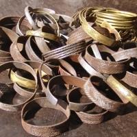 Metal Himba bracelets thumbnail
