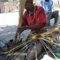 Khwe Bushman basket maker thumbnail